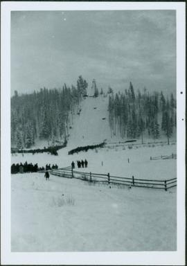Ski Jump at Connaught Hill, Prince George, BC
