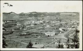 Prince George Townsite, From Above