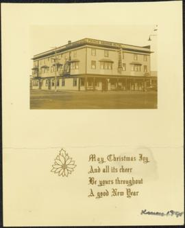 Prince George Hotel - Christmas Greeting Card