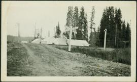 Railway Crossing at Construction Camp