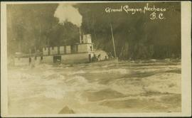 Nechaco Paddlewheeler in Grand Canyon, Fraser River