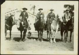 Four North-West Mounted Police Officers
