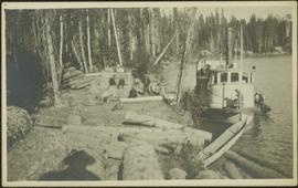 Forestry Boat at Giscom Portage, BC