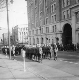 Armistice Day Parade in Vancouver