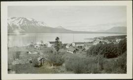 Atlin, BC: Town, Lake & Mountains