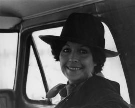 Iona Campagnolo in vehicle