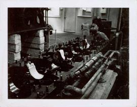 Welding Ruston Diesel Engine in Power House