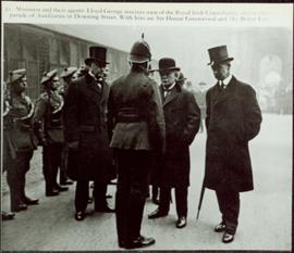 English Prime Minister, David Lloyd George and the Royal Irish Constabulary