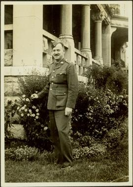 James Joseph Claxton in uniform