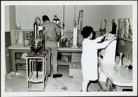 1965 - Ross Duddy & Unknown Woman in Lab