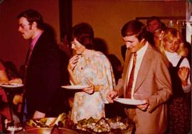 Community Album - Sue & David Pewsey in Group at Community Dinner