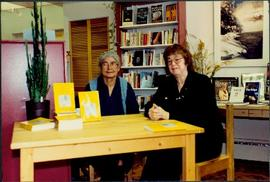 Bridget Moran & Mary John at First Autographing