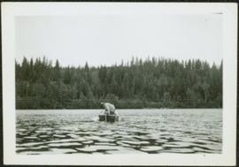 Unidentified Man in Boat