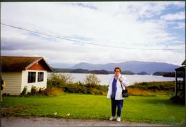 Bridget Moran at Metlakatla Lake, BC