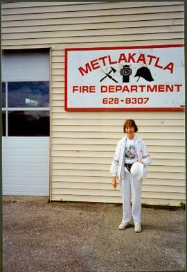 Unidentified Woman at Metlakatla Fire Department