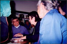 Monk & Moran Autographing at Mosquito Books, Prince George, BC