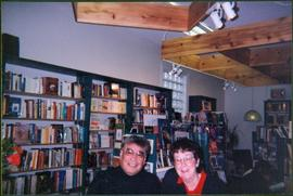 Monk & Moran at Book Signing in Mosquito Books, Prince George, BC