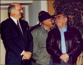 Justa Monk, John Alexis, & Premier Mike Harcourt in Prince George, BC