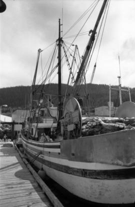 Fishing boat at Prince Rupert Marina