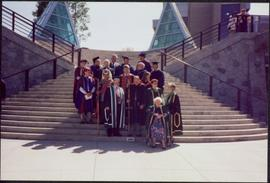 1995 Recipients of UNBC Honourary Doctorates