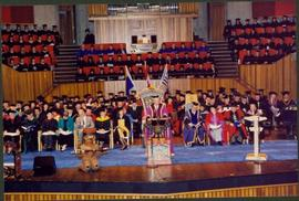 Convocation Stage at University of Victoria