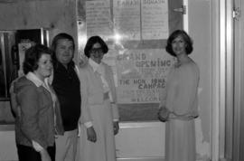 Iona Campagnolo with Barb Riordan, Garry Periard, and either Debra Wolfe or Deborah Hawkey at gra...