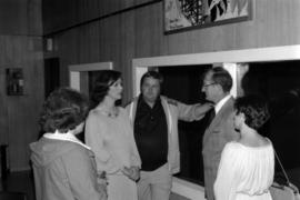 Iona Campagnolo with Brian Pewsey, Garry Periard, either Debra Wolfe or Deborah Hawkey, and woman...