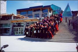 Group of 1995 UNBC Graduates, Side View