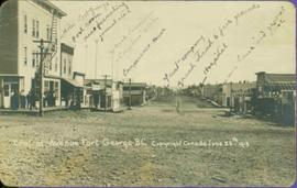 Central Avenue, Fort George, BC