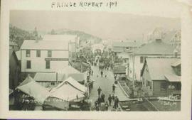 Centre Street from Above, Prince Rupert, BC