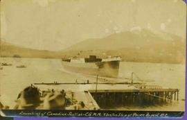 Launching Ship at Prince Rupert, BC