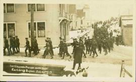 30th Battalion in Church Parade at Prince Rupert, BC