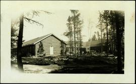 Military Barracks at Watson Lake, YT