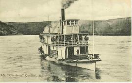 S.S. Charlotte - Sternwheeler at Quesnel, BC