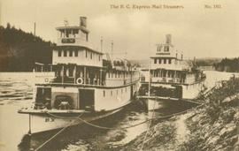 Two BC Express Mail Steamers