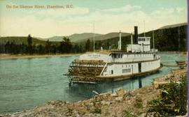 S.S. Port Simpson - Sternwheeler at Hazelton, BC