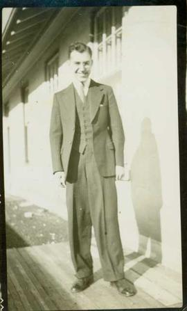 Dr. W.E. (Eric) Austen, Medical Superintendant at Hazelton, 1932