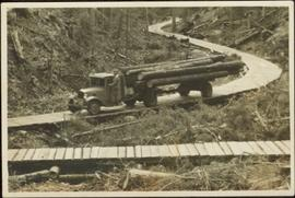 Logging Truck at Giscome, BC