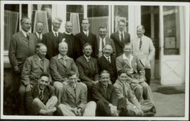 Group of Unidentified Men in Atlin, BC