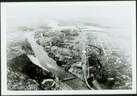 Aerial View of Prince George, BC, 1936