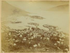 View of Fort Wrangell, Alaska
