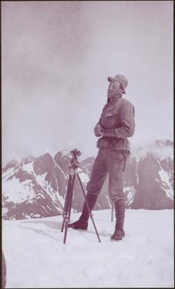 Taku River Survey - Man with Camera