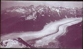 Taku River Survey - Glacier in Mountains