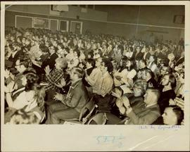 Audience in attendance at production of Friedrich Von Schiller's Mary Stuart, Prince Rupert, BC