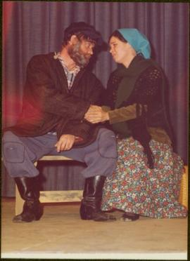 Unidentified Man in Costume as Tevye in 'Fiddler on the Roof' Production, Prince Rupert...