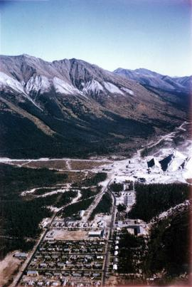Cassiar Aerial, East View