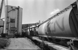 Prince Rupert grain facility and CN grain car