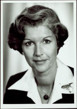 Portrait of Iona Campagnolo as Minister of State, Fitness and Amateur Sport, 1978-1979