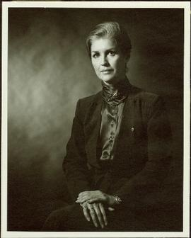 Portrait of Iona Campagnolo, seated, 1981