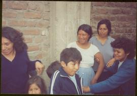 W.H.O. Trip, Ayacucho, Peru - Four unidentified women and three unidentified children